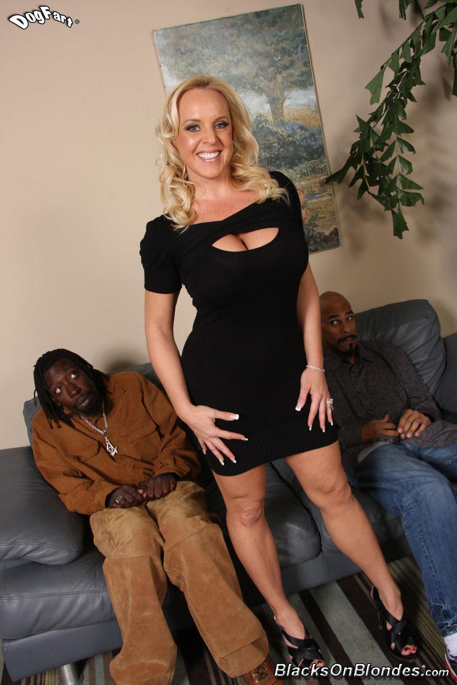 Black Titty Fuck Cumshot