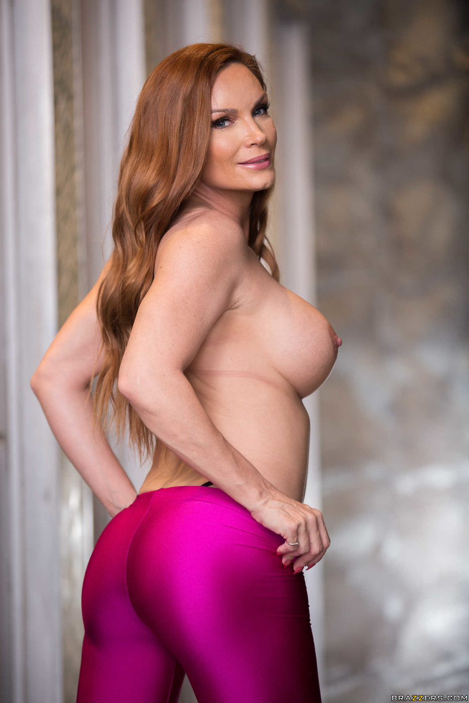 The red headed milf