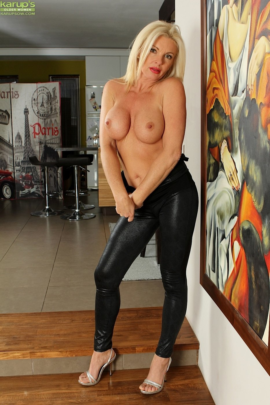 Milf leather pants