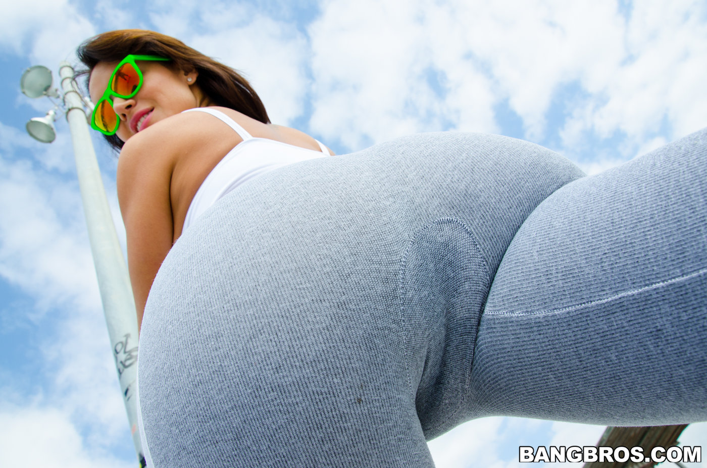 Girl Gets Fucked Yoga Pants