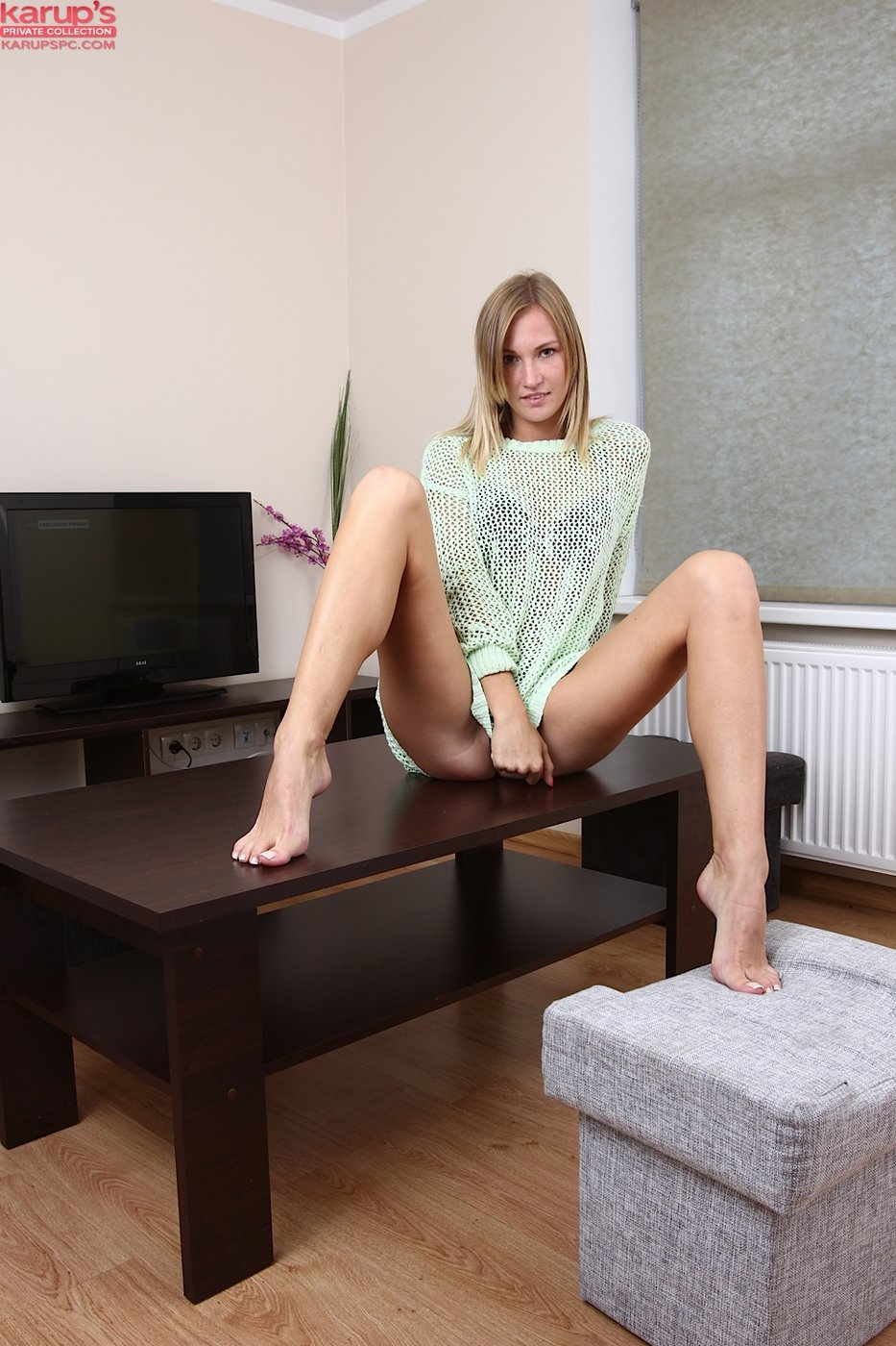 Blonde Short Hair Small Tits