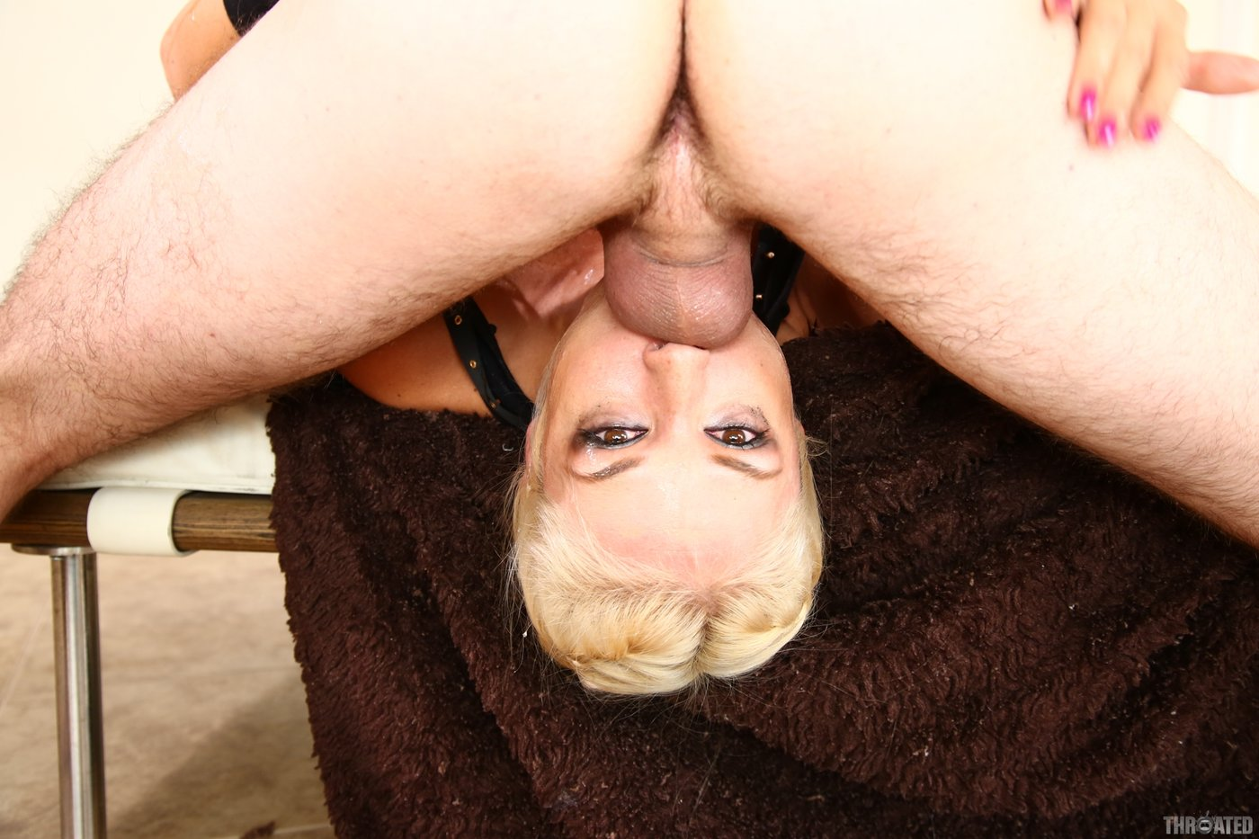 fucked upside down