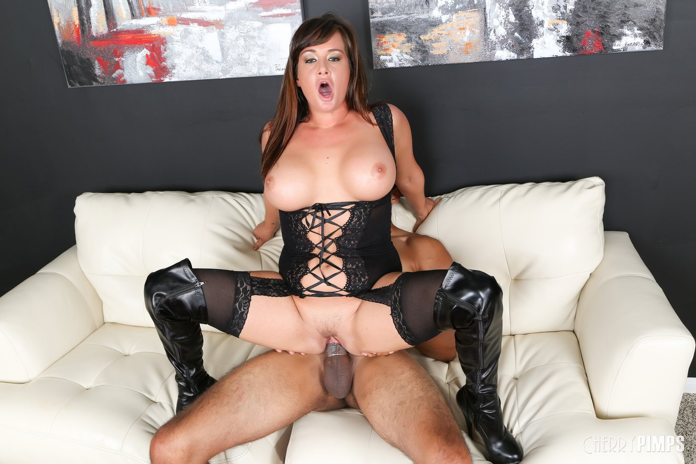 Big tits tory fucked from behind and screwed her ass 8