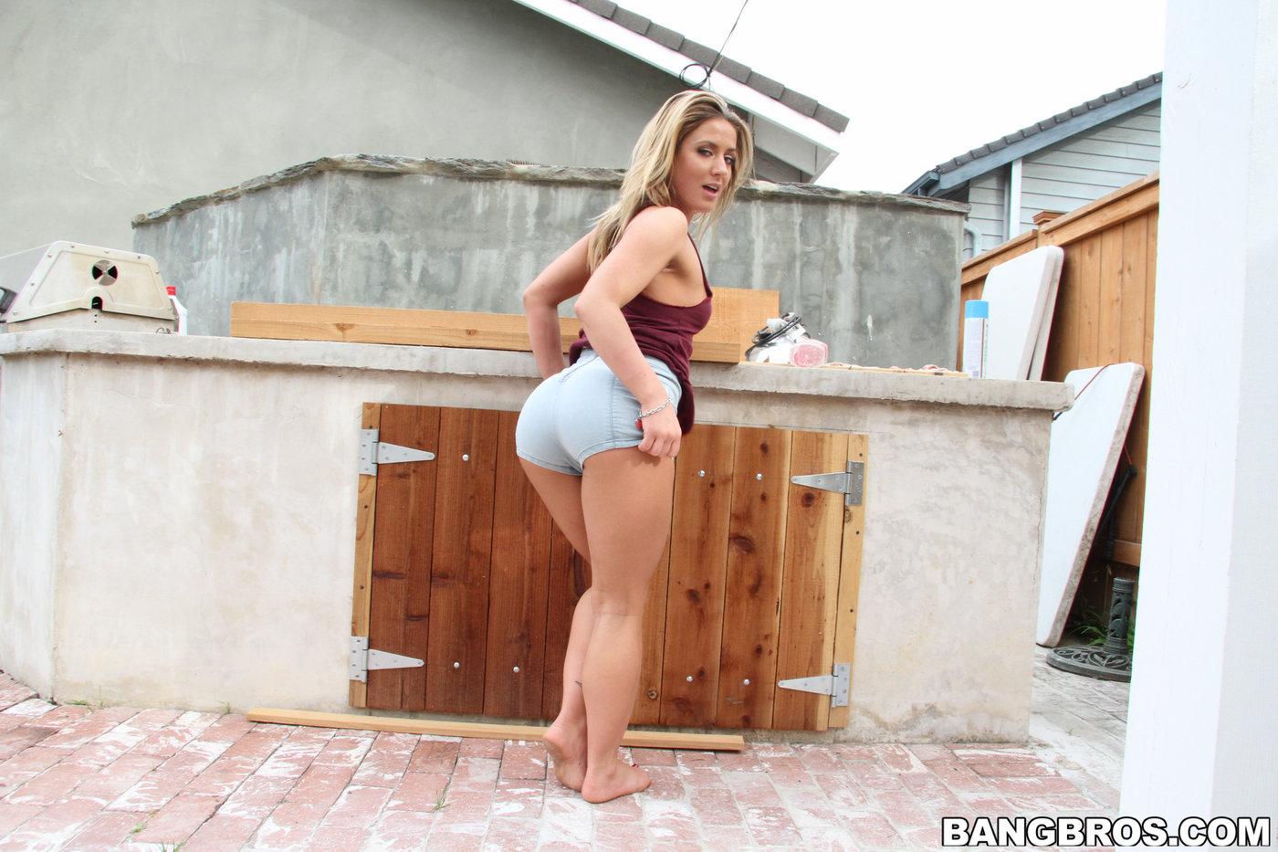 Think, Big booty blonde sex think