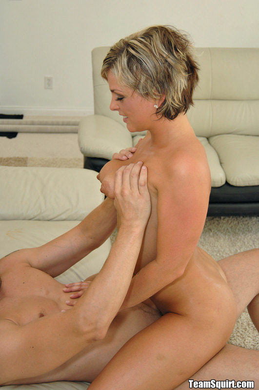 Blonde Short Haired Milf