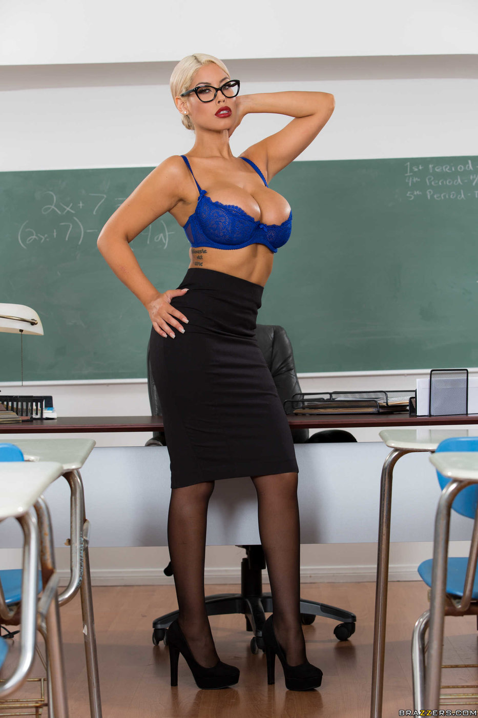 Milf Fucks Teacher Student