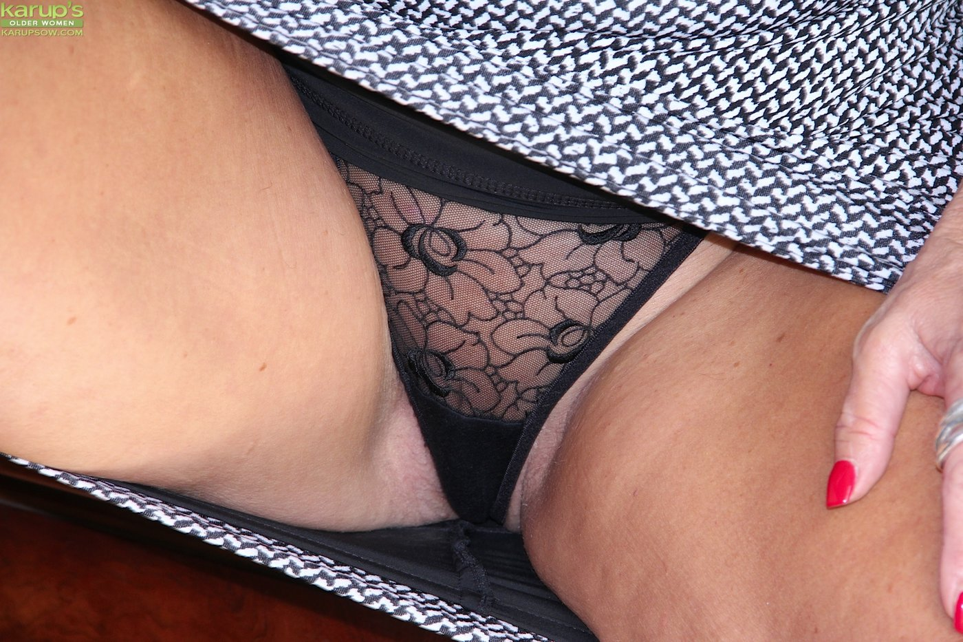 Clit Rubbing Through Panties