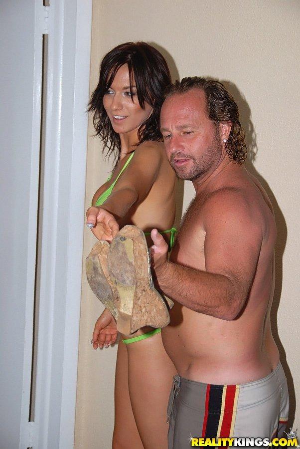 Bikini banged in a