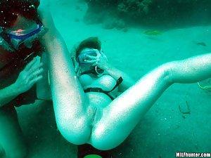Scuba bikini photos